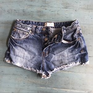 Free people Jean shorts 26